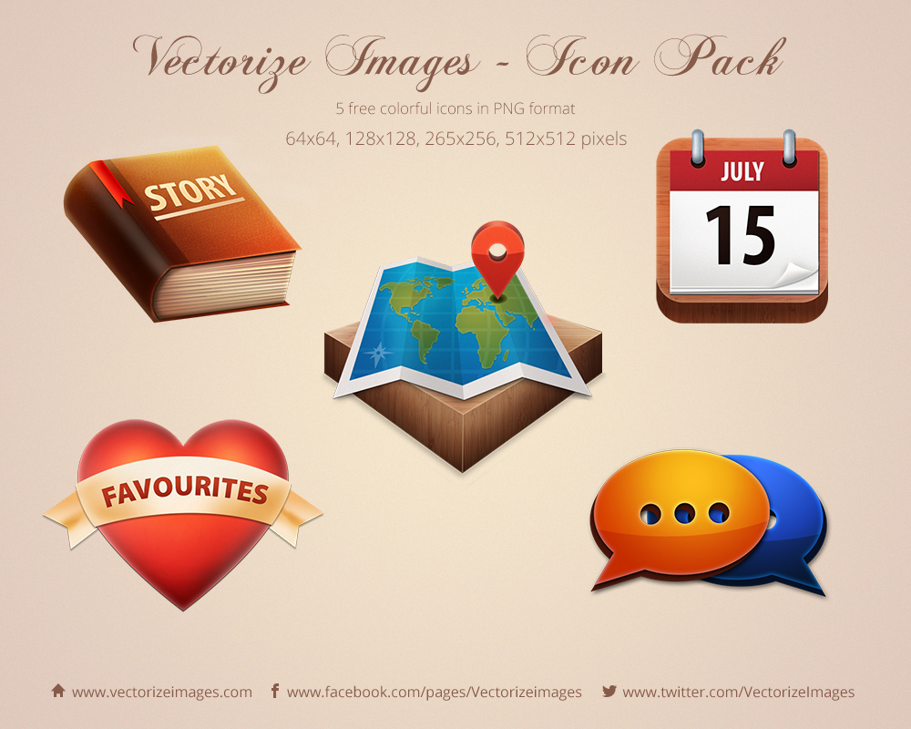 Vectorize Images Free Icon Pack
