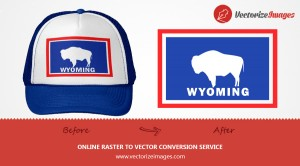 WYOMING LOGO VECTOR REDRAW