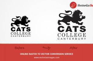 CATS LOGO VECTOR REDRAW