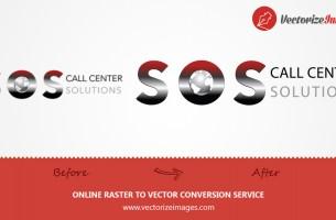 SOS LOGO VECTORIZATION