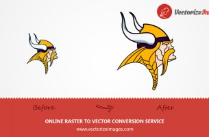 VECTOR CONVERSION OF ILLUSTRATIONS