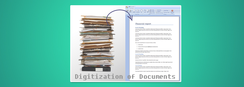 digitizations of documents