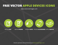 Free Minimal Apple Device Icons