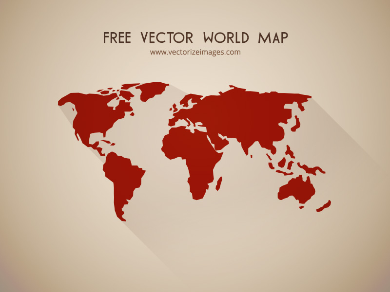 Free Vector World Map Vectorize Images Vectorize images