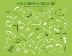Free Hand-drawn Arrow Set