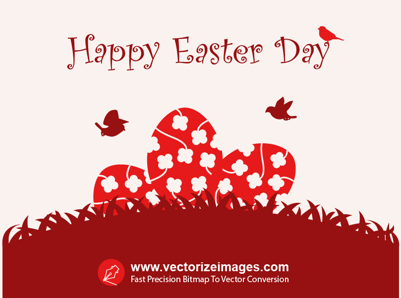 Happy Easter Vector Art