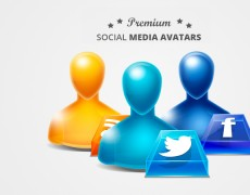 Social Media Avatars – Icon Set