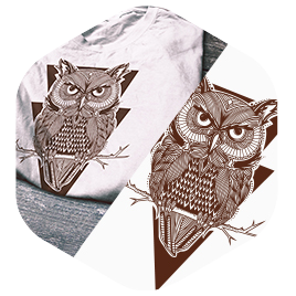T-shirt vectorization