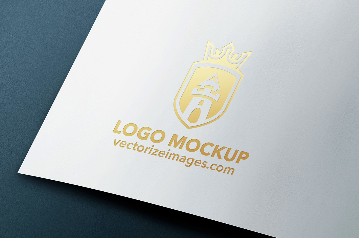 Free Realistic Logo Mock-Up