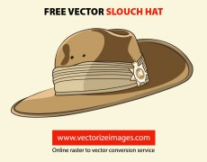 Free Vector Slouch Hat