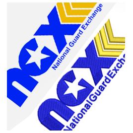 Logo - embroidery digitizing