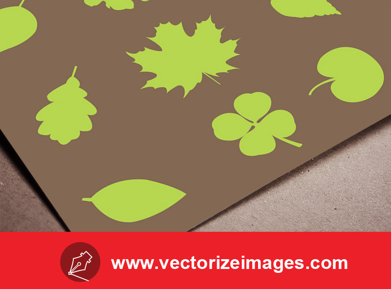 free vector leaf shape