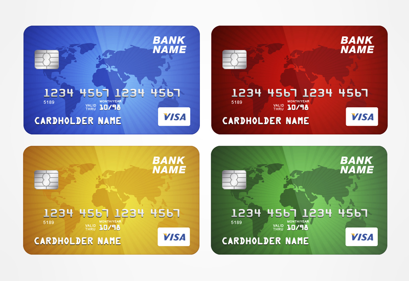 free credit card template
