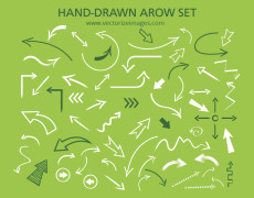 Free Hand-drawn Arrow Set