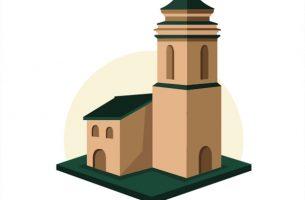 Free church clipart