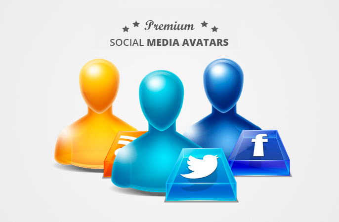 Social Media Avatars - Icon Set
