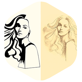 portrait sketch vectorization