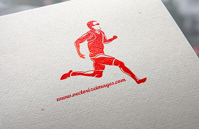Runner Clipart Vector