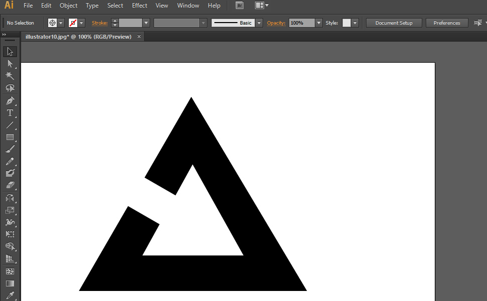 How to digitize a drawing in Illustrator step 5