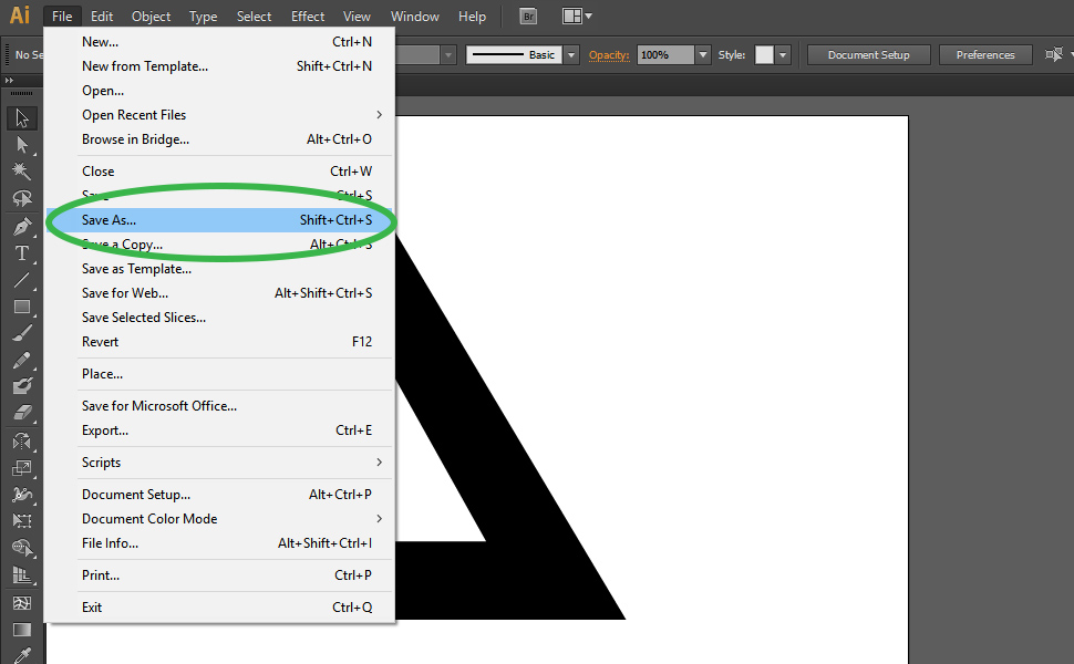 How to digitize a drawing in Illustrator step 7